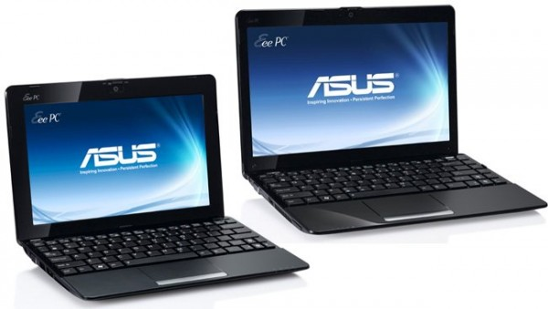 Asus EeePC 1015B y 1215B
