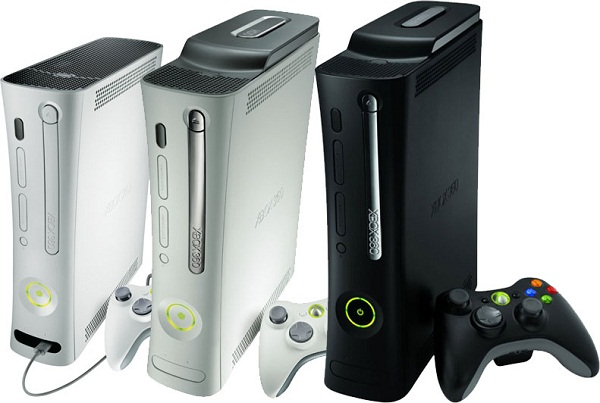 Distintas Versiones XBox 360