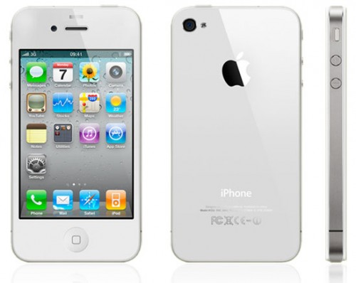 iPhone 4 blanco