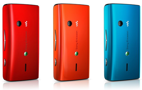Sony Ericsson W8 colores