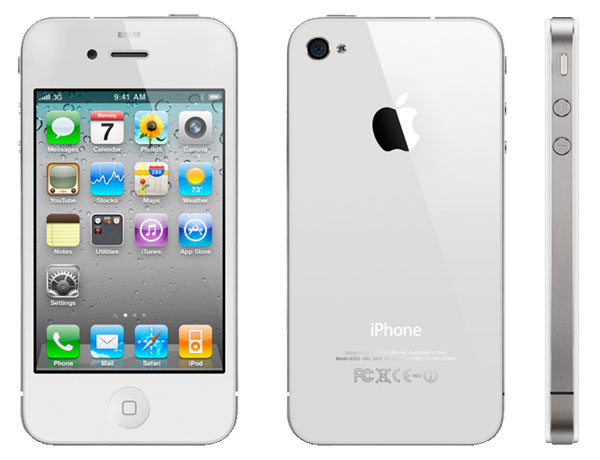 iPhone 4 en color blanco