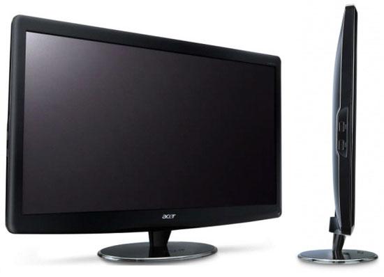 Nuevas pantallas 3D de Acer