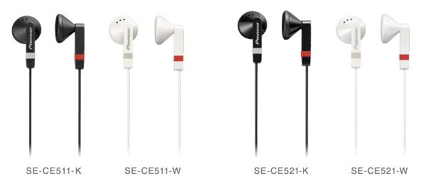 Pioneer SE-CE511 y SE-CE521
