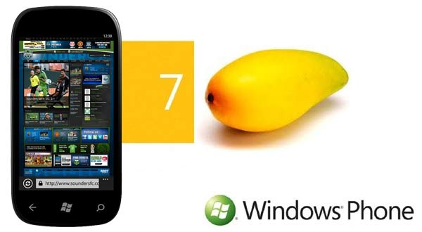 Windows Phone 7, actualización Mango