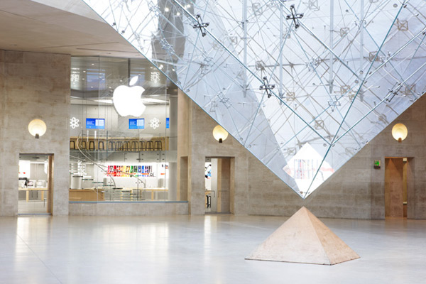 Apple Store Paris Luvre