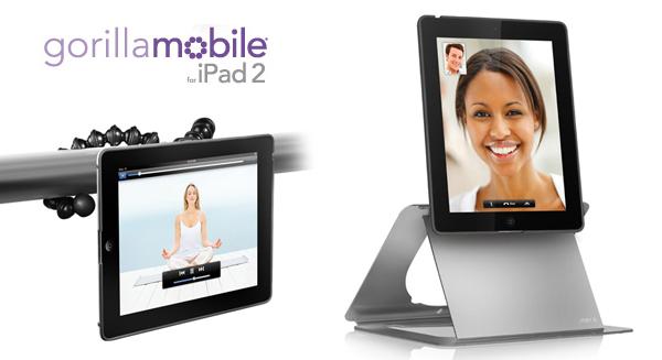 GorillaMobile Sopote artículado y flexible para iPad 2