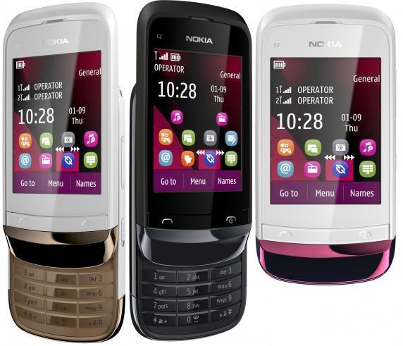 Nokia C2-02, C2-03 y C2-06