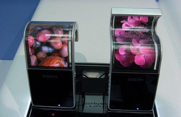 Samsung podría poner en el mercado pantallas flexibles AMOLED en 2012