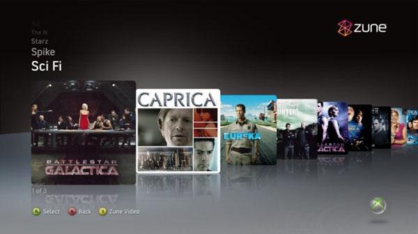 Xbox 360: ahora con televisión por Internet