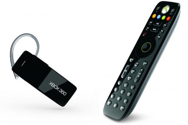 Xbox 360 Media Remote y Wireless headset