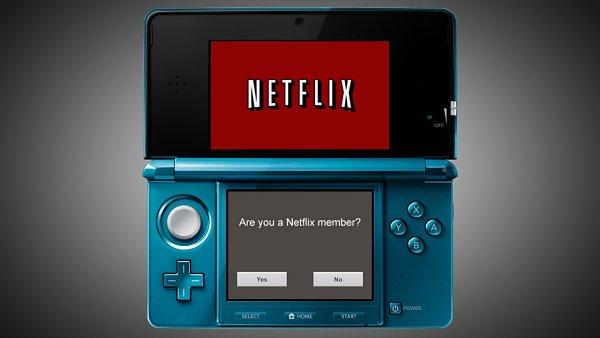 Nintendo 3DS y Netflix