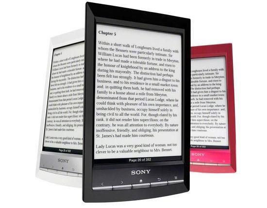 Sony PRS-T1 libro electrónico