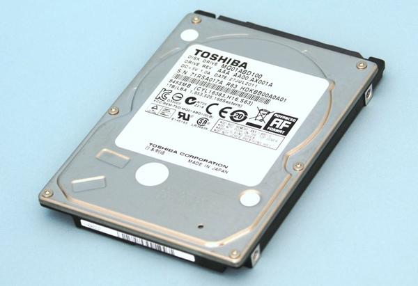 Toshiba lanza su primer disco duro de 2.5 pulgadas de 1 TB de capacidad