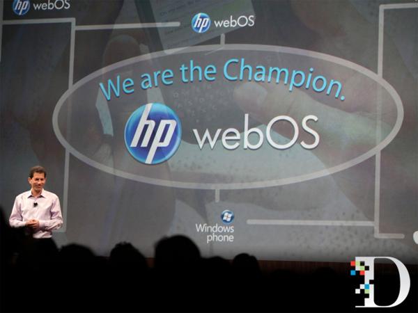 HP anuncia el abandono de la plataforma webOS