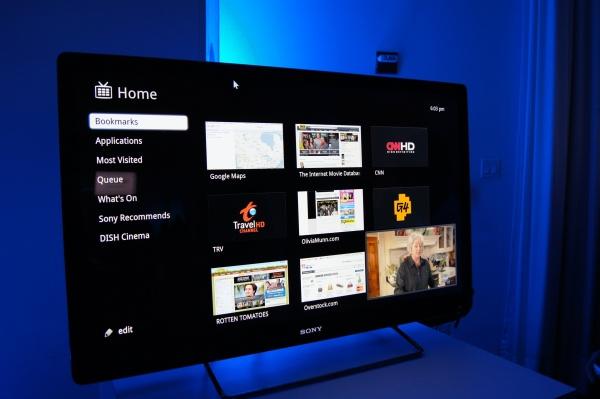 Televisión de Sony con Google TV