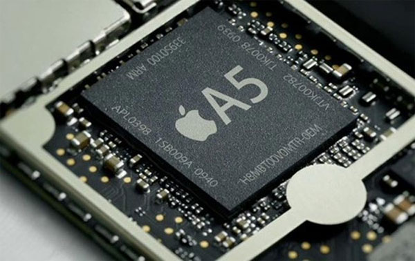 Procesador A5 del iPhone 5