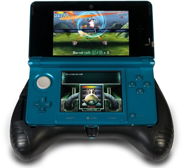 Deluxe Power Grip para Nintendo 3DS