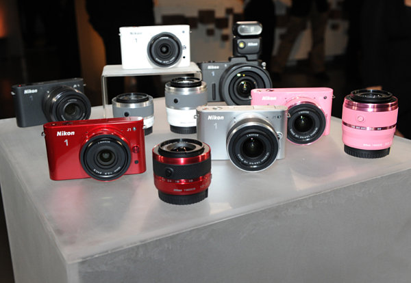 Nikon 1 V1 y Nikon 1 J1