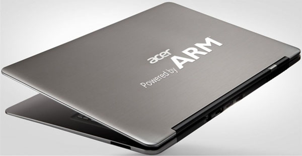 Ultrabook Acer con chip ARM