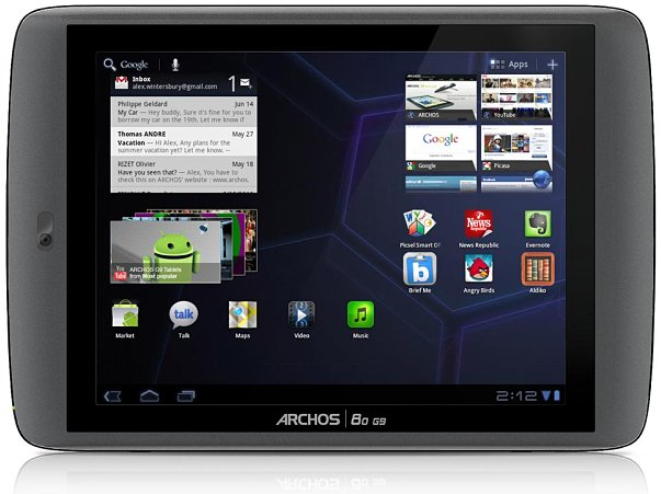 Archos G9 tablet