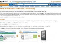 Amazon, Kindle y las bibliotecas