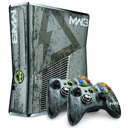 Xbox 360 edición limitada Call of Duty Modern Warfare 3