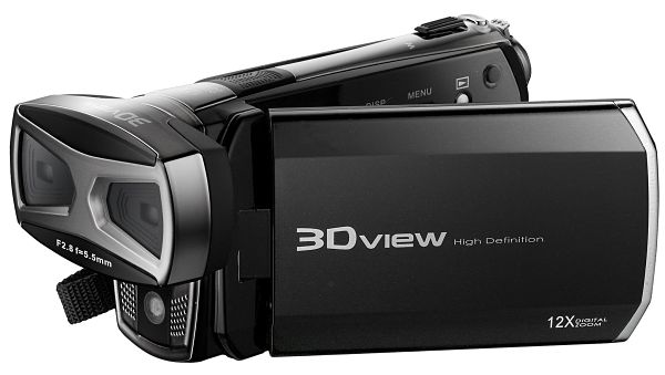 DXG-5F9V videocámara 3D