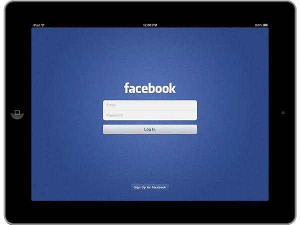 Facebook para iPad