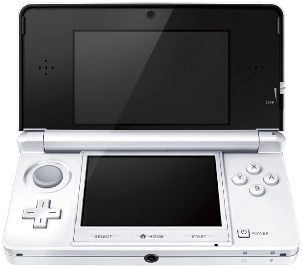 Nintendo 3DS blanco