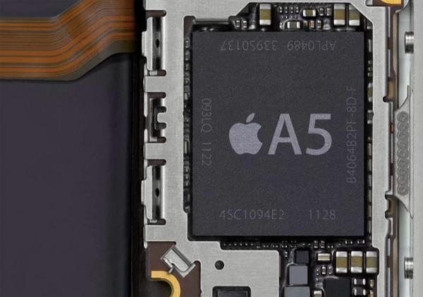 iPhone 4S procesador