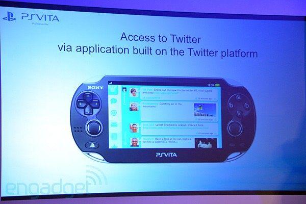 PS Vita vendrá con Twitter de serie