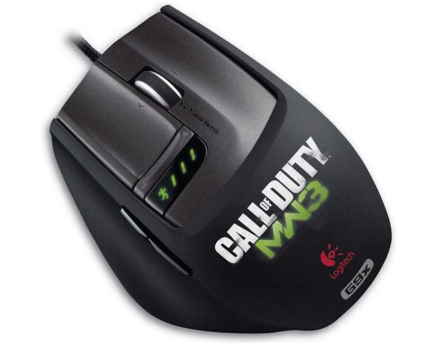 Nuevo ratón Logitech edición especial Call of Duty Modern Warfare 3