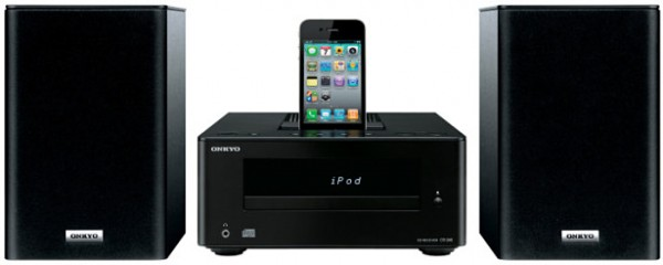 Onkyo CS 345 altavoces con dock iphone ipod
