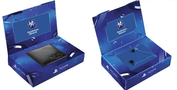 PS Vita Pack Cartera y PS Vita Pack Auriculares