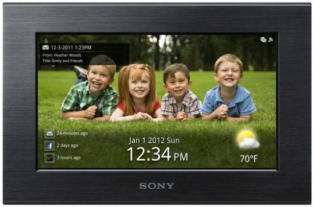 Sony S-Frame, marcos digitales con conexión Wi-Fi