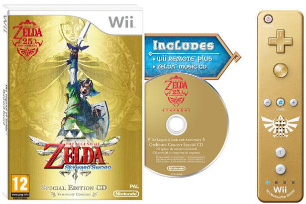 Wii Remote Plus Zelda Skyward Sword