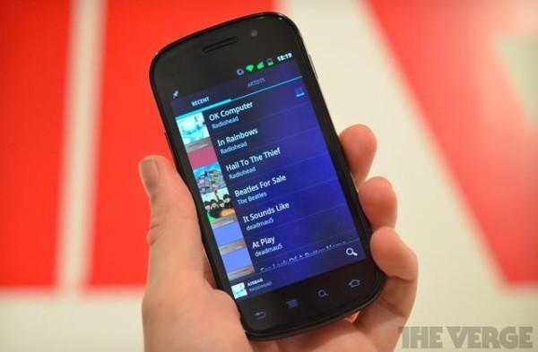 Google Music para Android