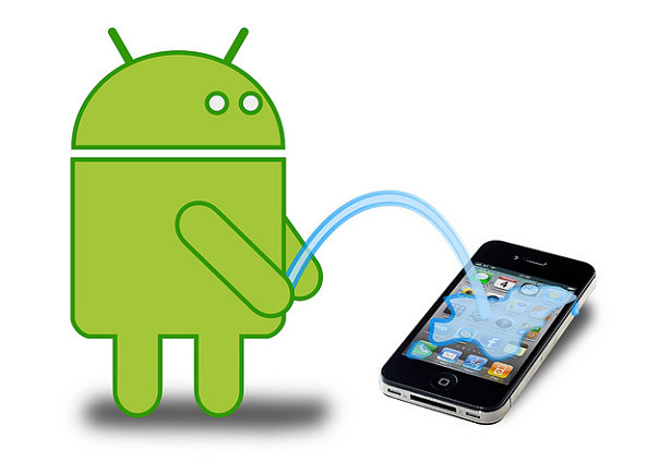Apple vs Google; iOS vs Android