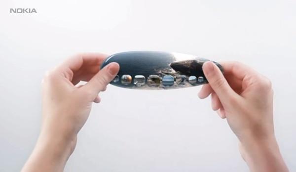 Nokia muestra su concepto de móvil flexible