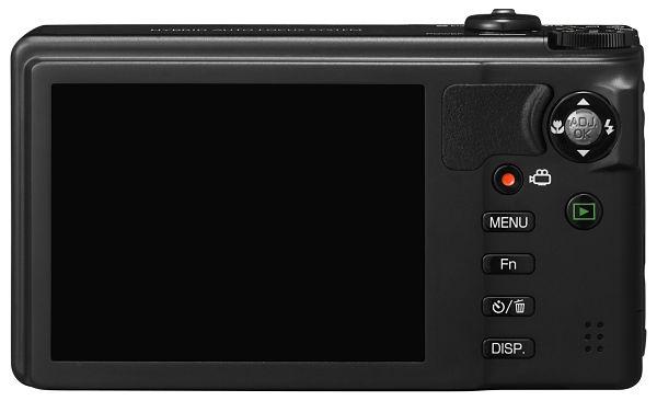 Ricoh CX6 pantalla