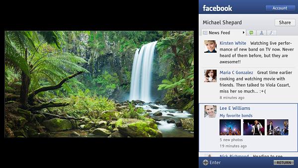 Sony mejora el acceso a las redes sociales en sus televisores BRAVIA