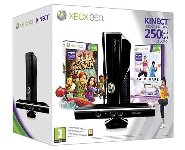 Microsoft lanza exclusivos packs con Kinect para Navidad