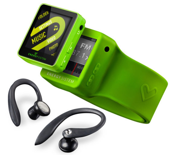 Energy Sistem Serie 25 Sport reproductores MP3 para deportistas