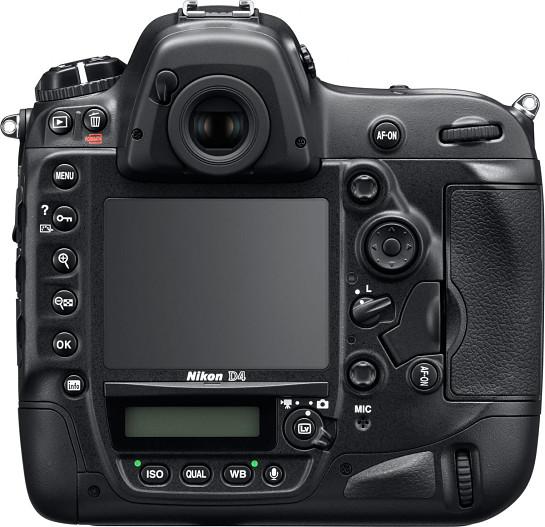 Nikon D4 atras