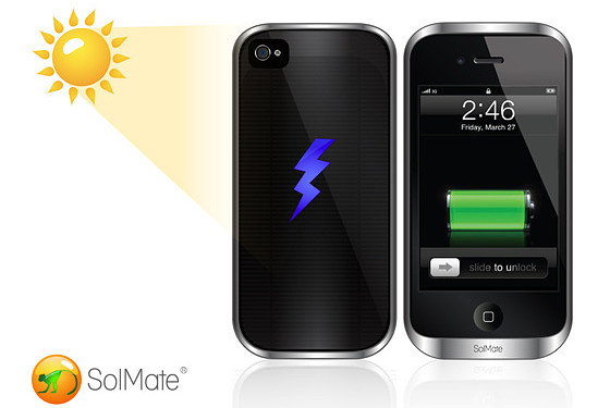 SolMate funda cargador solar iphone