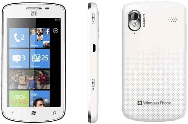ZTE Tania windows phone movil