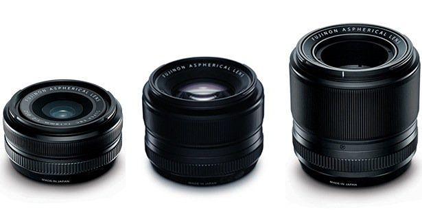 Objetivos Fujinon XF 18mm F2 R, XF 35mm F1.4 R y XF 60mm F2.4 R Macro