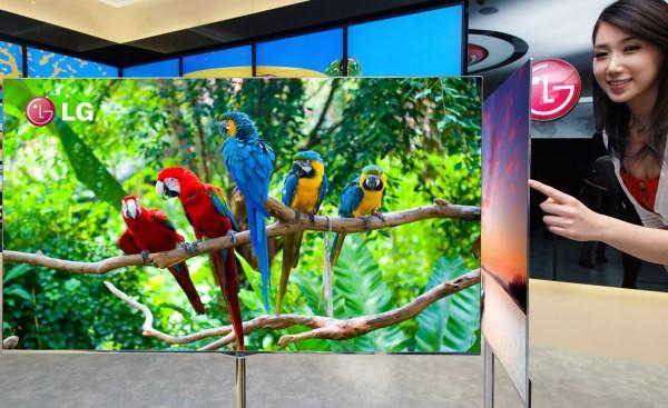 LG presentará una televisión de 55 pulgadas OLED en el CES 2012