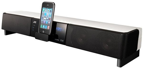JVC TH-LB3 barra de sonido docking iphone