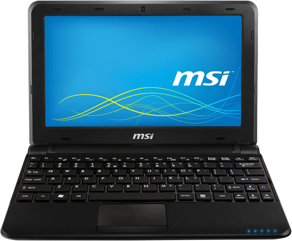 MSI U180 netbook